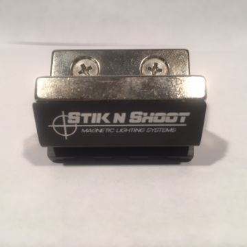 "STIK N SHOOT MAGNETIC PICA-TINNY LIGHT/LASER RAIL SYSTEM 1.5"" INCH"