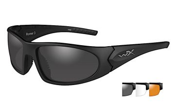 WILEY X ROMER 3 SUNGLASSES 3 LENS PACKAGE