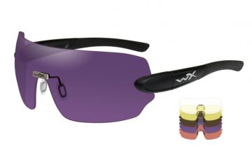 WILEY X DETECTION SUNGLASSES 5 LENS PACKAGE