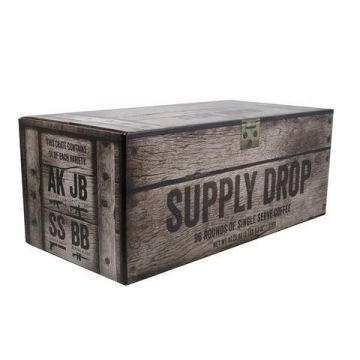 BLACK RIFLE COFFEE SUPPLY DROP 96 MIXED ROUNDS