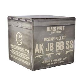 BLACK RIFLE COFFEE MISSION FUEL KIT 48 MIXED ROUNDS
