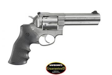 RUGER GP100 357 DOUBLE ACTION REV 5 IN SS HEAVY BARREL