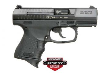 "WALTHERS ARMS INC P99C AS DA 9MM 3.5"" BARREL 10RD BLACK"