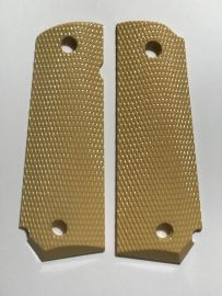 OFFICER - COMPACT 1911 HANDGUN GRIPS - CHECKERED