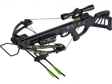 SA SPORTS EMPIRE DRAGON CROSSBOW PACKAGE W/SCOPE- 340FPS