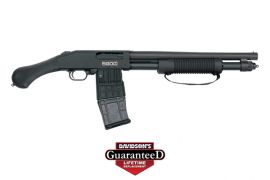MOSSBERG 590M SHOCKWAVE 12M/15CB BL MAGAZINE FED
