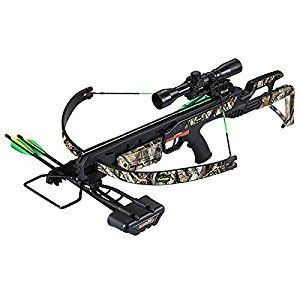 SA SPORTS EMPIRE TERMINATOR CROSSBOW PACKAGE W/SCOPE - 175LB - 260 FPS