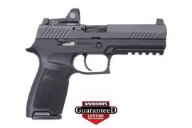 SIG SAUER P320F NITRON FULL SIZE W/ ROMEO 1 SIGHT 9MM 17R