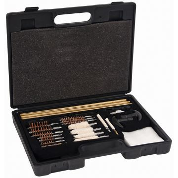 UNIVERSAL CLEANING KIT MOLDED TOOL BOX 37 PIECE SET