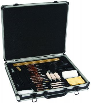 UNIVERSAL DELUXE CLEANING KIT ALUMINUM CARRY CASE 60 PIECE SET