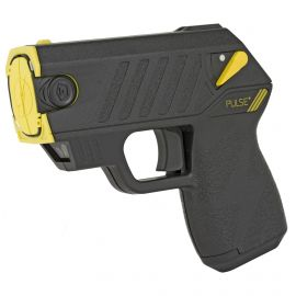 TASER- TASER PULSE + w/ LASER & 15-FOOT SHOOTING DISTANCE - BLACK