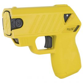 TASER- TASER PULSE + W/ LASER & 15-FOOT SHOOTING DISTANCE – SUNSHINE YELLOW