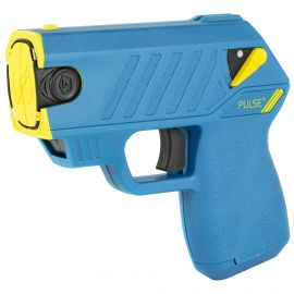TASER- TASER PULSE + W/ LASER & 15-FOOT SHOOTING DISTANCE – ELECTRIC BLUE