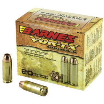 BARNES VOR-TX 10MM 155GR XPB 20/200 SELF DEFENSE