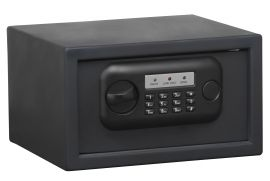 "BULLDOG STANDARD PISTOL VAULT/SAFE WITH DIGITAL LOCK 7""X12'X10"" BLACK"