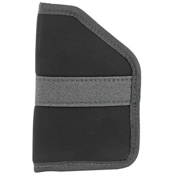 "NSIDE-THE-POCKET HOLSTER FITS 2"" REV OR 380 SMALL AUTOMATIC PISTOLS- AMBIDEXTROUS"