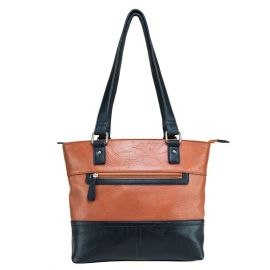 Vism® By Ncstar® Tote Bag/Brown With Black