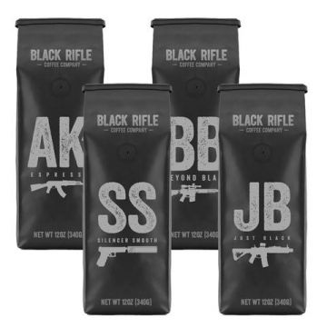 BLACK RIFLE COFFEE COMPLETE MISSION FUEL KIT GROUNDS