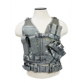 Vism® By Ncstar® Tactical Vest/Digital Camo Xs-S