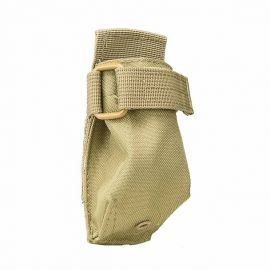 Vism® By Ncstar® Molle Flashlight Pouch/ Tan