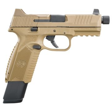 "FNM FN 509 TACTICAL 9MM 4.5"" BARREL 17/24RD OPTIC READY FDE"