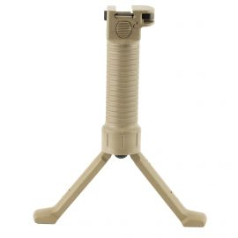 GRIP POD LAW ENFORCEMENT VERTICAL FORWARD GRIP CAM LEVER ALL POLYMER TAN