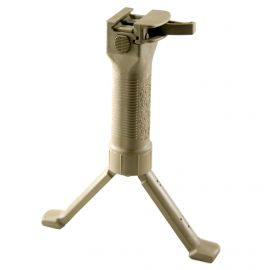 GRIP POD VERTIAL FORWARD GRIP W/CAM LEVER,STEEL REINFORCED LEGS,TAN FINISH