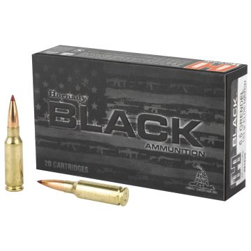 HORNADY BLACK 6.5 GRENDEL 123 GRAIN ELD MATCH 20 ROUND BOX