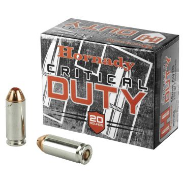 HORNADY FLEXLOCK 10MM 175GR CRITICAL DUTY 20/200 SELF DEFENSE
