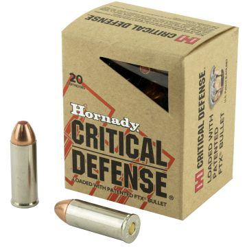 HORNADY 45COLT 185GR CRITICAL DEFENSE 20/200
