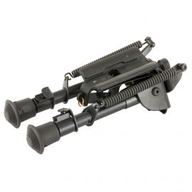 "HARRIS ENGINEERING BIPOD ROTATING 6""-9"" LEG NOTCH BLACK"