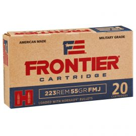 FRONTIER LAKE CITY 223REM 55GR FMJ 20/500