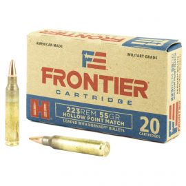 FRONTIER LAKE CITY 223REM 55GR HP MATCH 20/500
