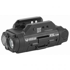 VIRIDIAN X5L G3 UNIVERSAL TACTICAL LIGHT/GREEN LASER/HD CAMERA COMBO 500LM-LED