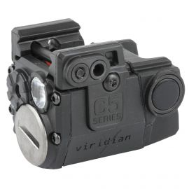 VIRIDIAN UNIVERSAL LIGHT/RED LASER SIGHT 100LM FOR SUB-COMPACT HANDGUNS