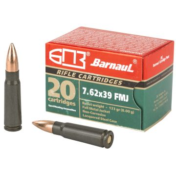 HI-POINT FIREARMS - MKS BARNAUL 7.62X39 123 GRAIN FMJ 20 ROUND BOX