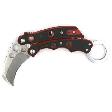 Vuja De Karambit, Red G10 Handle, Hawkbill Plain