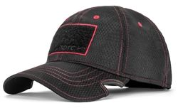 NOTCH CLASSIC ADJUSTABLE HAT ATHLETE BLACK/RED OPERATOR