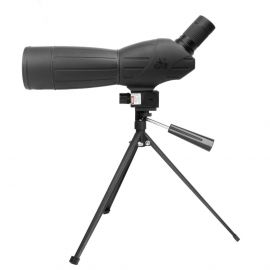 NCSTAR 15X-45X 60MM SPOTTING SCOPE WITH TRIPOD AND RED LASER