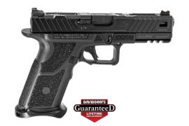 ZEV TECHNOLOGIES OZ9 PISTOL 9MM 4.48 BLACK BARREL W/ FIBER OPTIC 17RD