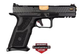 ZEV TECHNOLOGIES OZ9 PISTOL 9MM 4.48 BRONZE BARREL W/ FIBER OPTIC 17RD