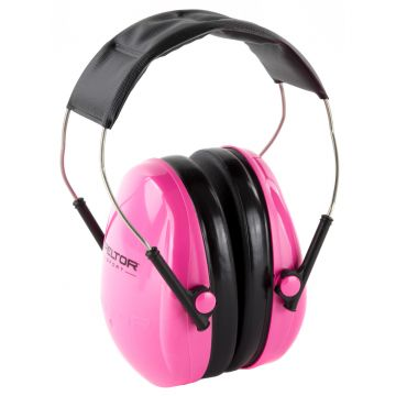 PELTOR SPORT SMALL HEARING PROTECTOR EARMUFF PINK NRR 22