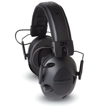 PELTOR SPORT TACTICAL ELECTRONIC EARMUFF 100 w/ 3.5 MM AUDIO INPUT JACK