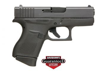 GLOCK 43 9MM PST 6RD FIXED SIGHTS