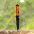 ULTIMATE SURVIVAL TECHNOLOGIES PARAKNIFE 4.0 SERRATED w/ FIRESTARTER ORANGE