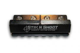 "STIK N SHOOT MAGNETIC PICA-TINNY LIGHT/LASER RAIL SYSTEM 3"" INCH"