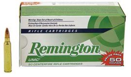 Remington UMC 223REM 55GR FMJ 50/400