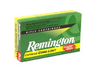 Remington 223REM 55GR Core Lokt PSP 20/200