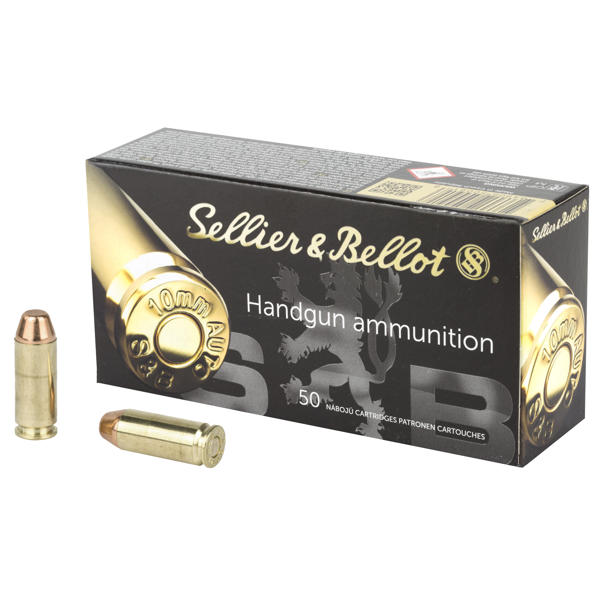 SELLIER & BELLOT 10MM 180GR FMJ 50/1000