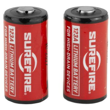 SUREFIRE CR123A LITHIUM BATTERY 2 PACK